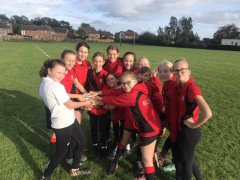 U13 girls' rugby