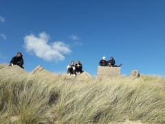 Dunes at Spurn point