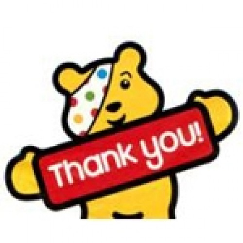 Pudsey thank you