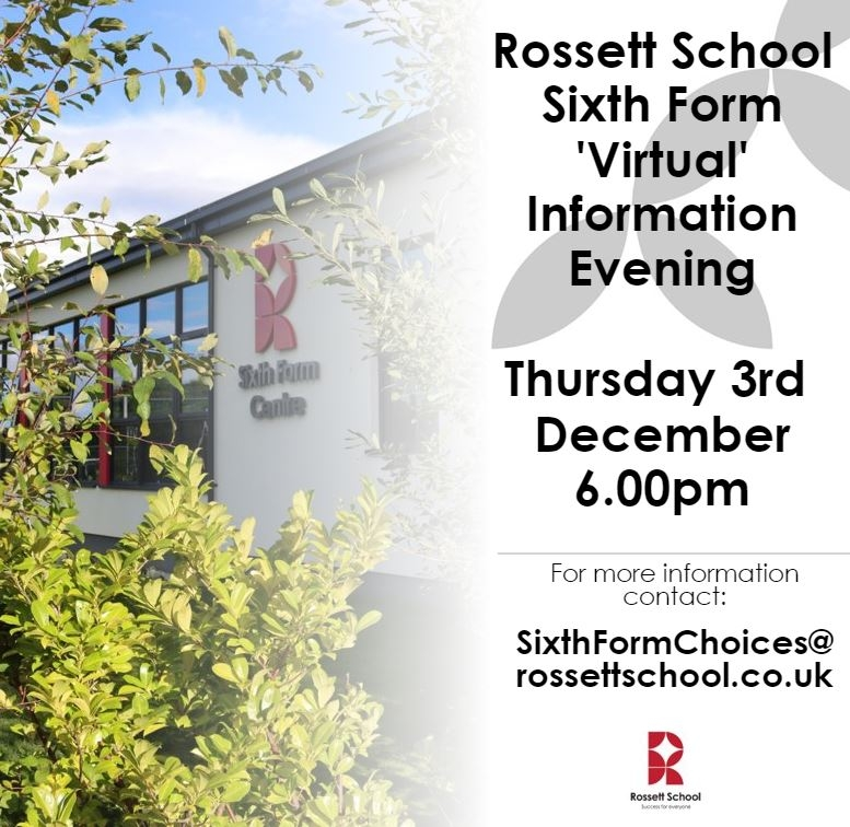 Sixth Form Information Evening use